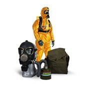 Radiation and chemical protection means