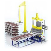 Equipment for construction materials manufacturing