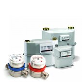 Units for gas, electricity, heat and water metering