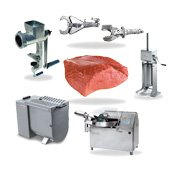 Equipment for meat products manufacturing