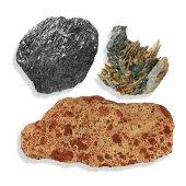 Minéraux de métal, minerais*