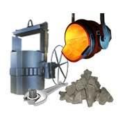 Materials for metallurgy and foundry production