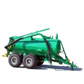 Equipment for the applying of fertilizers and plant protection