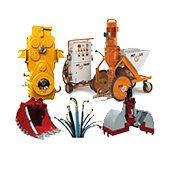 Construction equipment and machinery spare parts