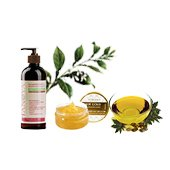 Cosmetics, essential and massage oils