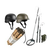 Equipment for disposal of arms and ammunition