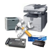 Servicing of office equipment