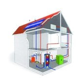 Services on water-, gas-, heating supplies and ventilation