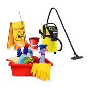 Washing, cleaning, tidyng up, labor safety