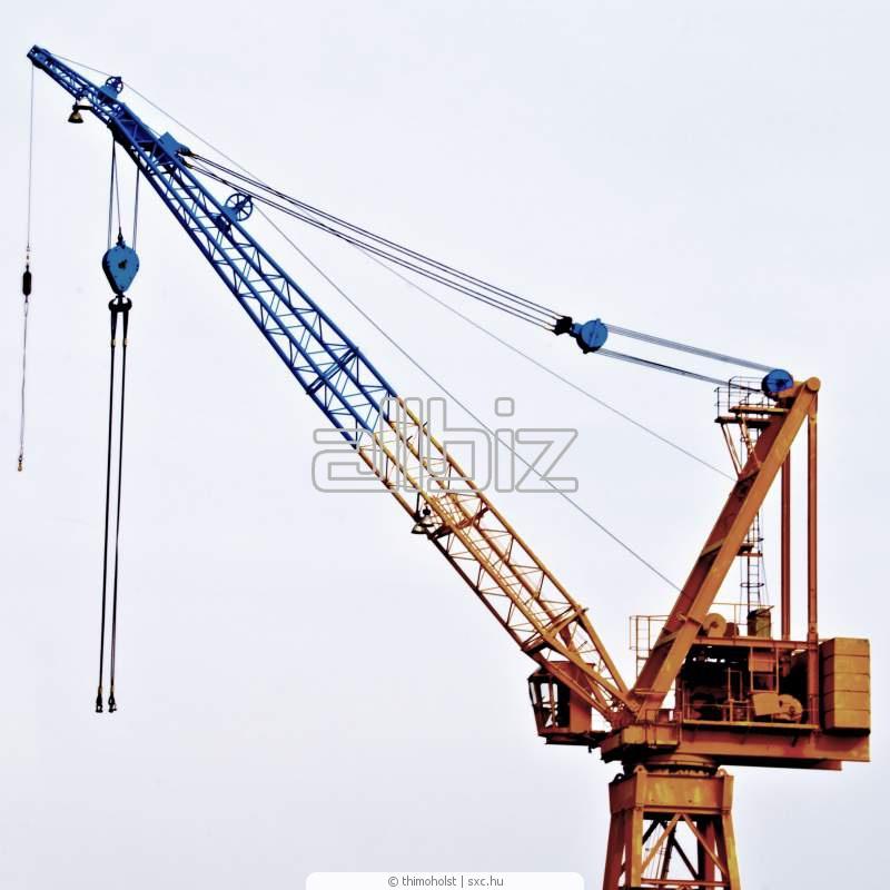 摩尔多瓦 建筑起重机 价格 | 由 2 个提供者便宜批发和零售地买 建筑起重机 | Allbiz