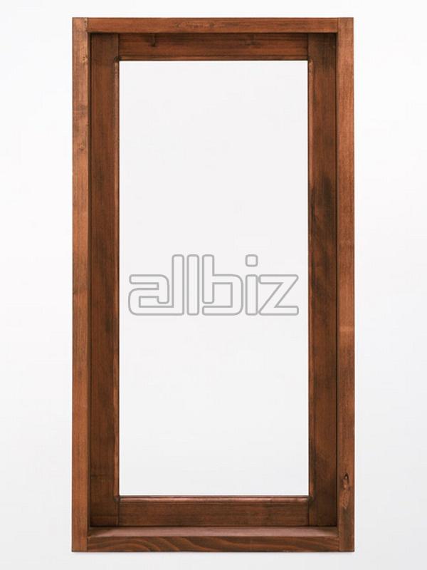 木质窗户和框 在 埃及