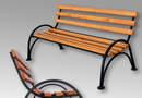 Скамейки и столы садово-парковые