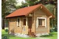 Деревянные конструкции из оцилиндрованного бревна