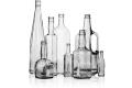 Стеклянные бутылки под коньяк