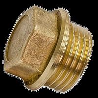 Заглушка латунная с наружной резьбой