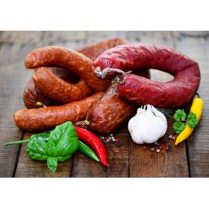 Полукопченые и варенокопченые колбасы