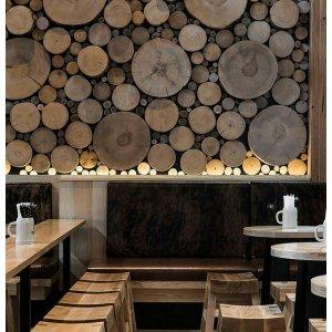 Интерьеры из дерева.Деревянный декор.
