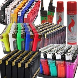 Зажигалки и расходные материалы для зажигалок