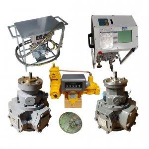 Расходомеры и счетчики СУГ для ГНС, газовозов и ГРК, проточные эталонные мерники