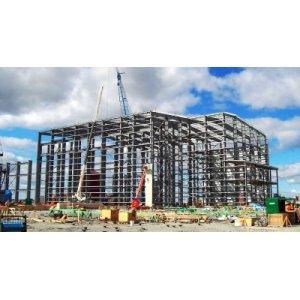 Подготовка под строительство из металлоконструкций