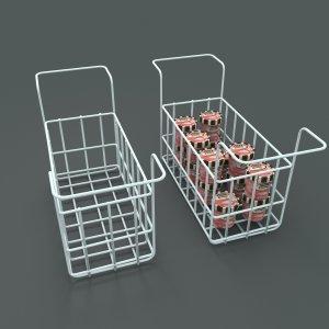 Chest freezer baskets