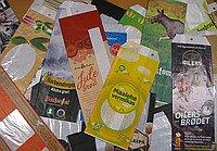 Пакеты бумажные дизайнерские