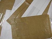 Пакеты стандартные однотонные