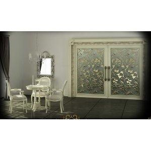 Двери межкомнатные раздвижные - коллекция Белый шоколад (2016 г.)
