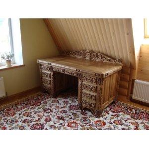 Эксклюзивная резная мебель, мебель под старину