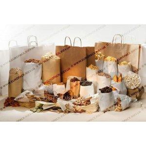 Бумажные пакеты для упаковки кофе, чая, сушёных трав, сухофруктов, орехов, семечек, печенья