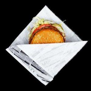 Уголки бумажные саше для Fast-Food