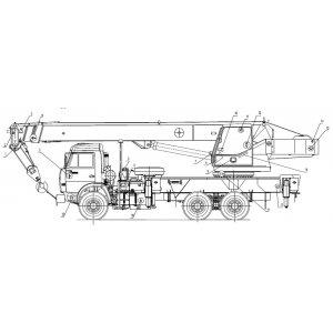 Электрооборудование КС-55713