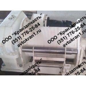 Установка грузовой лебедки КС-55713-1.26.000 на автокран КС-55713 Галичанин
