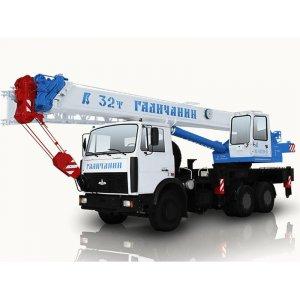 Автокран КС-55729В Галичанин