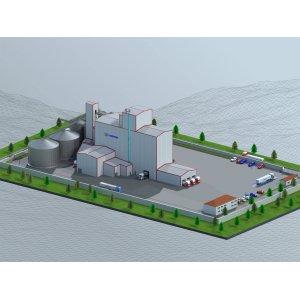 Комбикормовые заводы по переработке животных отходов. Оборудование для производство кормов для сельскохозяйственных животных.