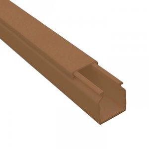 Кабель-канал коричневый