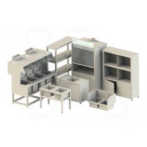 Лабораторная мебель из полипропилена