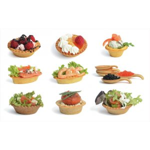 Tartlets for baking