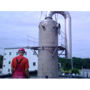 Distillation column, distilyatsionnye, acceleration, restorative, purifying column