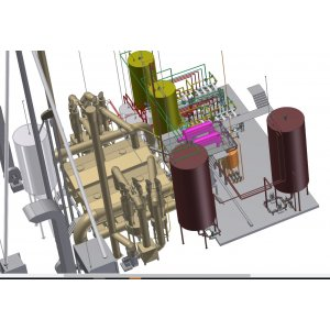 Le recyclage de la conception drêches, mise en service, la fourniture d'équipements