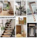 Лестницы межэтажные, чердачные