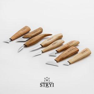 Наборы ножей для резьбы по дереву