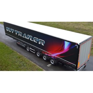 Awning semi-trailers