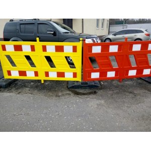 Temporary road barriers