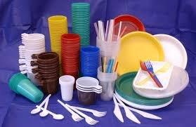 Одноразовая посуда, бумажные салфетки