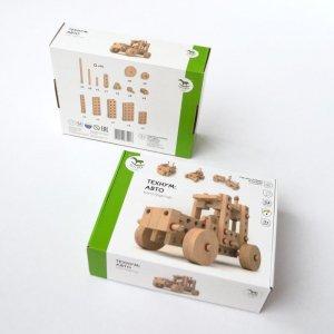 Конструктор деревянный