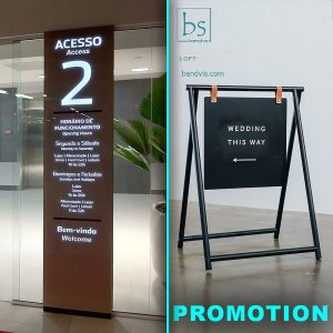 Promotional stands