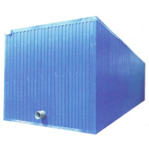 Ледоаккумулятор (ледяная вода) и испарительные секции