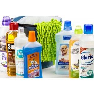 Средства для мытья полов