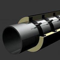 Трубы и фасонные изделия стальные в ППУ изоляции